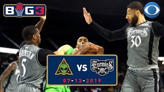 Perry Jones DOMINATES Greg Oden and Ryan Hollins | BIG3 | CBS Sports