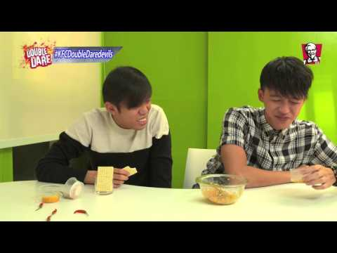 Kfc Double Daredevils – Tosh's Very Spicy Dare Challenge