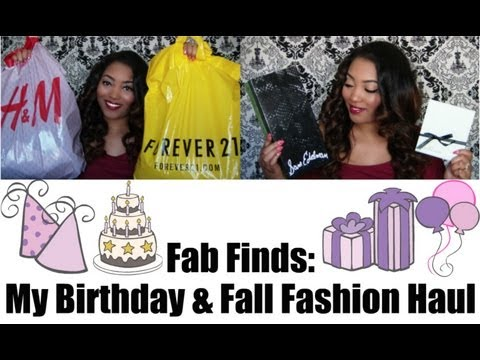 My Birthday & Fall Fashion Collective Jewelry, Clothing, & Shoe Haul
