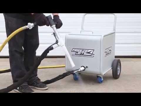 Freeze Jet Dry Ice Blasting Machine