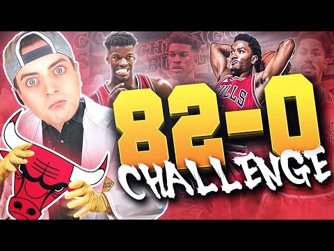 THE 82-0 CHALLENGE : CHICAGO BULLS!! These Bulls Ain