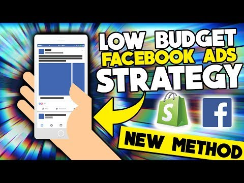 Low Budget Facebook Ads Strategy For Shopify Dropshipping 2019 thumbnail