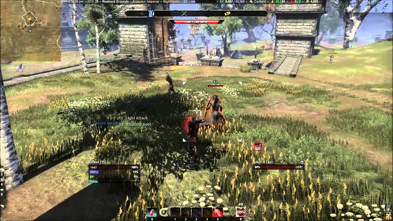 how to play pvp in eso