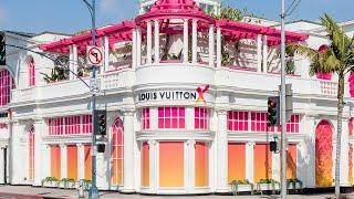 Выставка ЛУИ ВИТТОН в Калифорнии   Louis Vuitton museum in Beverly Hills, CA