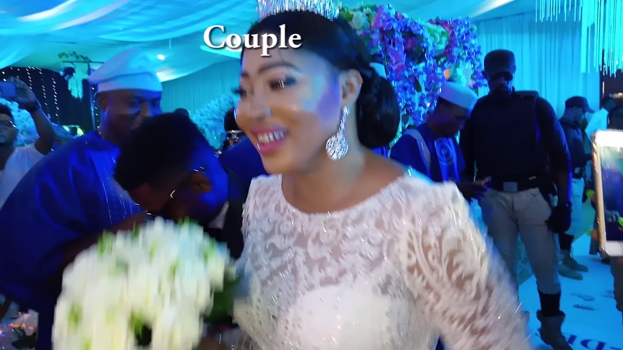 Nigerian Wedding Entrance Dance + Wedding Party