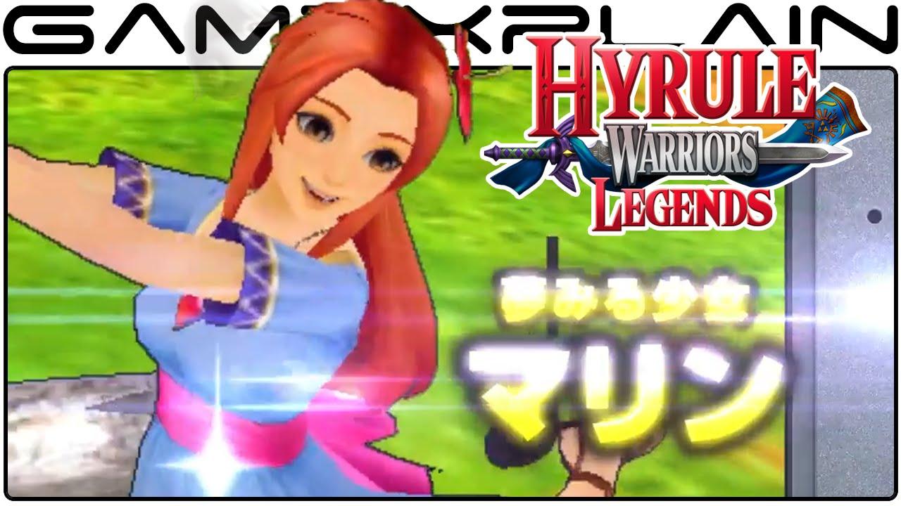 Hyrule Warriors Legends Link S Awakening Pack Extended Trailer Japanese 3ds Youtube