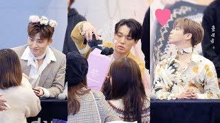 아이콘 iKON _ B.I, BOBBY, 김진환 _ 팬싸인 직캠 _ 팬사인회 fansign _ 분당 AK프라자