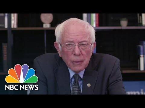 Sanders Calls For $2000 Payment For Every American Household | NBC News