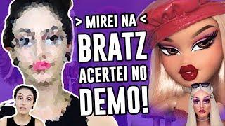 Baixar TENTEI FAZER MAKE DA BONECA BRATZ - Bratz Challenge   Luma Show