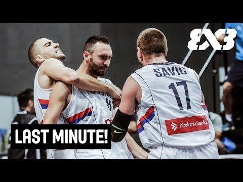 TISSOT Last Minute! - Serbia v Poland - FIBA 3x3 World Cup 2018