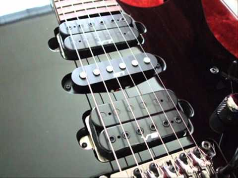 ibanez rg v8 pickup mod - YouTube