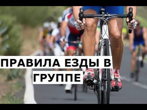 Правила езды в группе на шоссейном велосипеде. Жесты велосипедистов