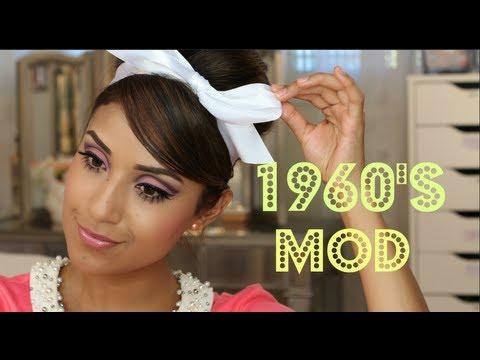 1960s mod makeup tutorial youtube