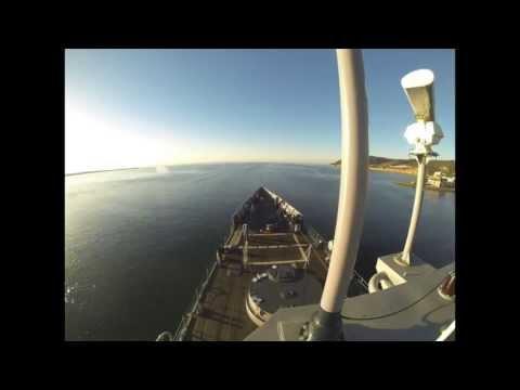 USS McCLUSKY (FFG-41) INSURV