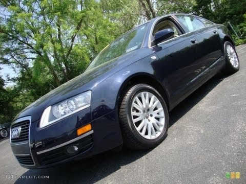2007 Audi A6 3.2 Quattro Sedan Review & Test Drive