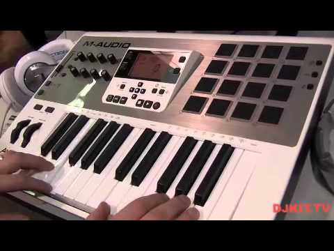 m audio axiom air 25 keyboard namm 2013 with youtube. Black Bedroom Furniture Sets. Home Design Ideas
