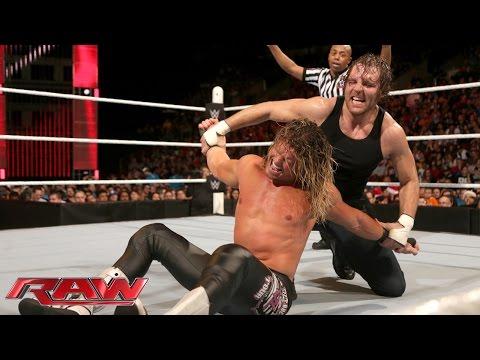 Dean Ambrose Vs. Dolph Ziggler: Raw – 14. Dezember 2015