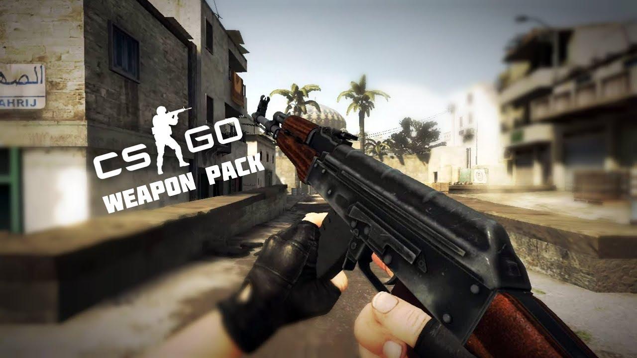 Counter strike source cs go weapon pack mod showcase youtube - Strike mod pack ...