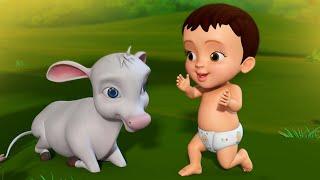 வெள்ளை  நிறத்து  கன்றொன்று  | Tamil Rhymes for Children | Infobells