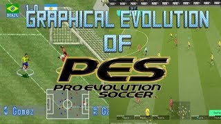 Graphical Evolution of Pro Evolution Soccer/ISS/Winning Eleven (1994-2018)