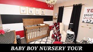 BABY BOY NURSERY TOUR!!