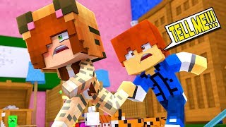 Minecraft Daycare - TINA BIG SECRET !? (Minecraft Roleplay)