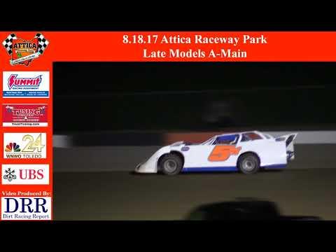 8.18.17 Attica Raceway Park Late Models A-Main
