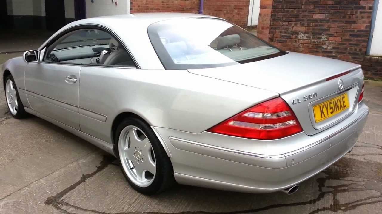 mercedes cl500 v8 2001 model wolverhampton youtube. Black Bedroom Furniture Sets. Home Design Ideas