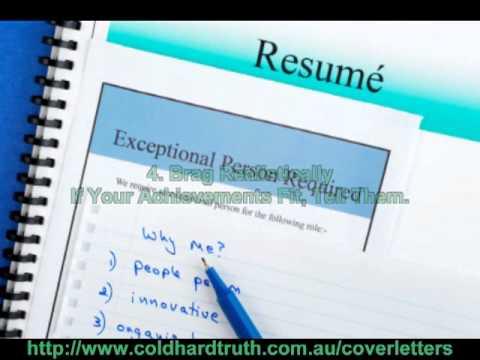 sample resume cover letter youtube - Resume Cover Letter Youtube