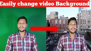 How to change video Background on Smartphone in urdu hindi
