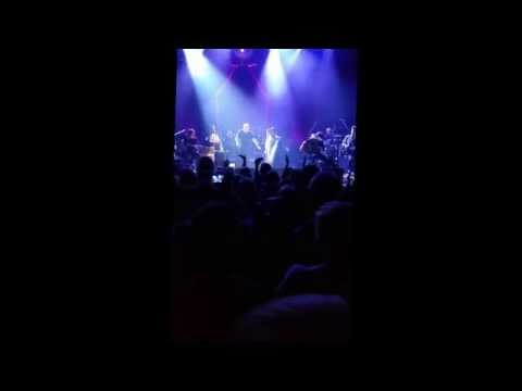 Jimmy Barnes & Victor Valdes Flesh and Wood Tour 2015 State Theatre - Sydney