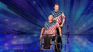 Strictly Wheels wheelchair dance - Britain's Got Talent 2012 audition - International version