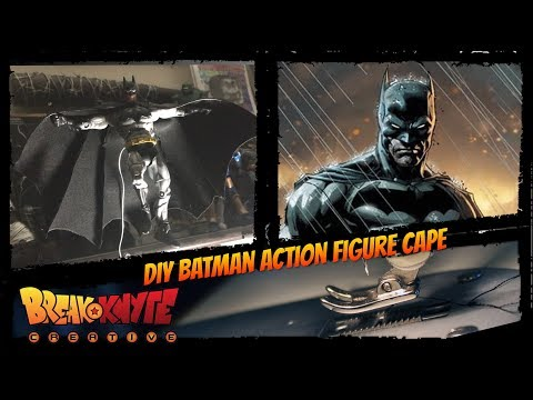 DIY Batman Action Figure Cape