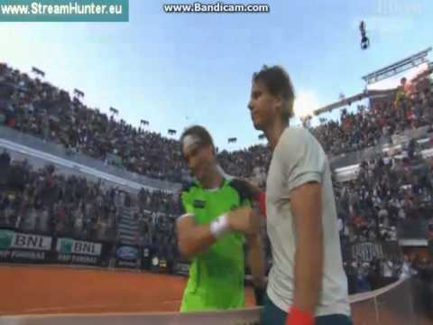 Rafael Nadal Vs David Ferrer MATCH POINT Quarter-Final ...