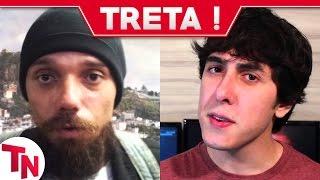 Youtuber é perseguido por fã obcecado, Castanhari do Nostalgia reclama