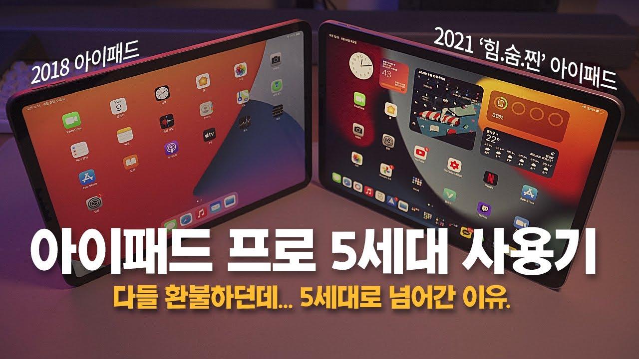 M1 아이패드 프로 5세대 사도 될까? 아이패드 12.9인치 대신 11인치를 구매한 이유