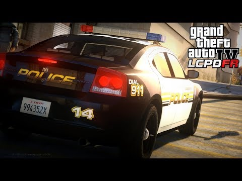 GTA 4 LCPDFR - Day 11 | Disturbance Turns into Shooting | LCPDFR 1.1 - 2010 Dodge Charger 🚔