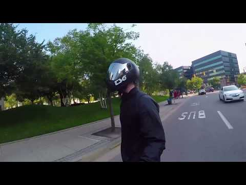 Electric Skateboard Dual Ride || Downtown Grand Rapids