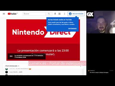 Nintendo Direct 17 Febrero - Directo con GAMELX