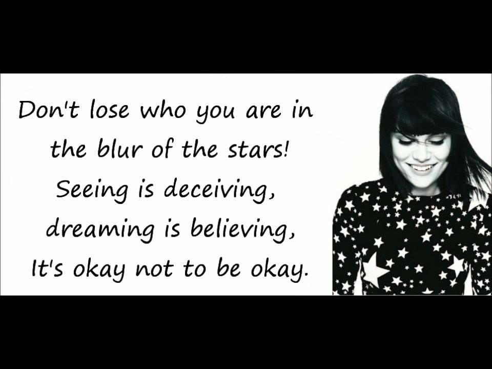 Lyric me & u lyrics : Jessie J - Who You Are (Lyrics On Screen) - YouTube