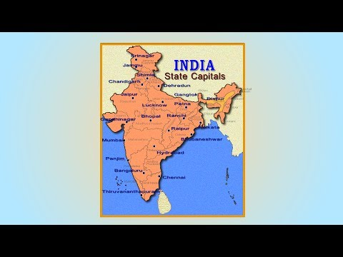India States and Capitals I International Airports I Ports