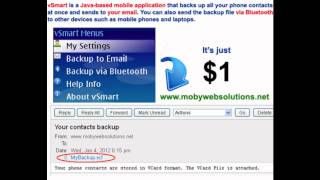 Mobile App for Java Phones - http://www.mobywebsolutions.net