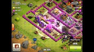 Clash of Clans - Barbs and Archers Destroy TH 10 Raid 73