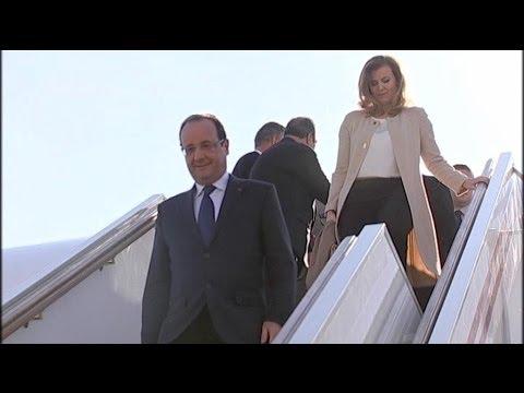 François Hollande, Valérie Trierweiler et le protocole - 13/09