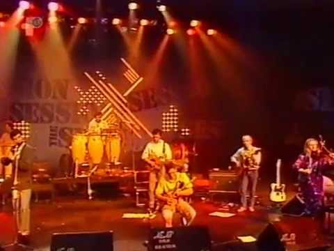 Irish traditional music : The Donal Lunny Band play 3 reels.