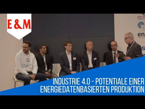 Industrie 4.0 Potentiale einer energiedatenbasierten Produktion HANNOVER MESSE | Google  | E&M | VEA