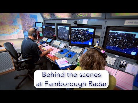 Behind the scenes at Farnborough Radar
