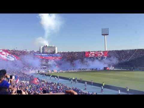 Salida Universidad de Chile Campeón 2017 vs San Luis HD