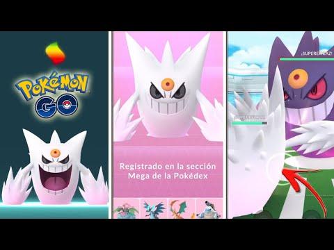 😱 NO CREERÁS el DAÑO que HACE MEGA-GENGAR SHINY 👀 MEGAEVOLUCIÓN y REGISTRO en Pokémon GO! [Keibron]