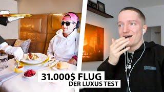 Justin reagiert auf den teuersten Flug der Welt.. | Reaktion